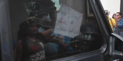 Manifestación CICIG