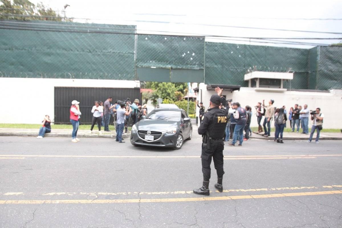 Manifestación CICIG. Foto: Douglas Suruy