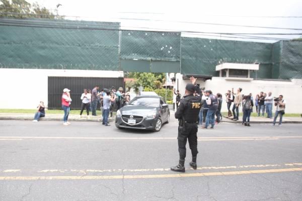 Manifestación CICIG.