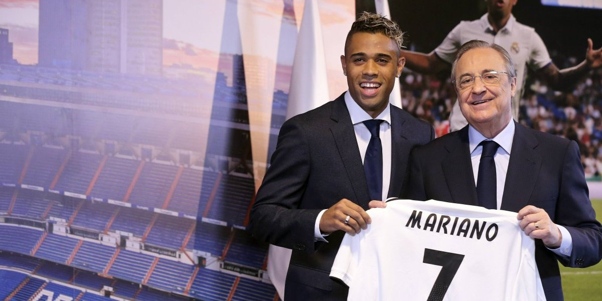 Real Madrid presenta a Mariano Díaz con el 7 de Cristiano Ronaldo