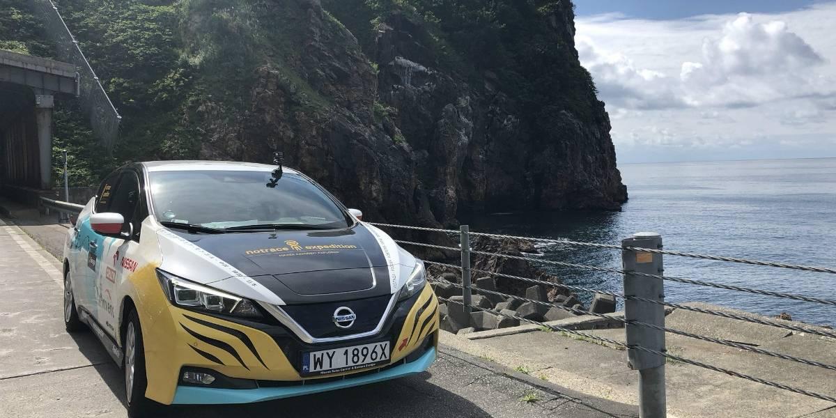 Otro reto superado por el Nissan Leaf: 16 mil kilómetros por el mundo