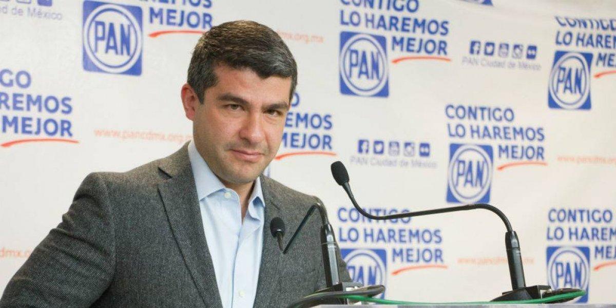 Mauricio Tabe renuncia a la dirigencia del PAN en la CDMX