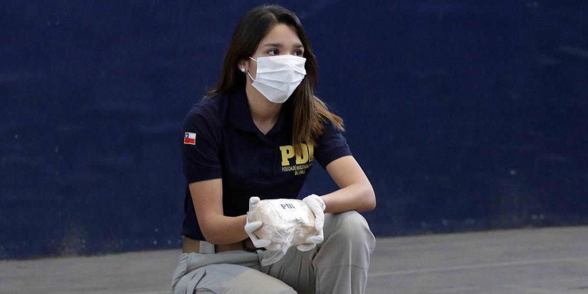 Atención abogados: 37 detenidos vinculados al narcotráfico deja operativo de la PDI en 42 puntos de Santiago