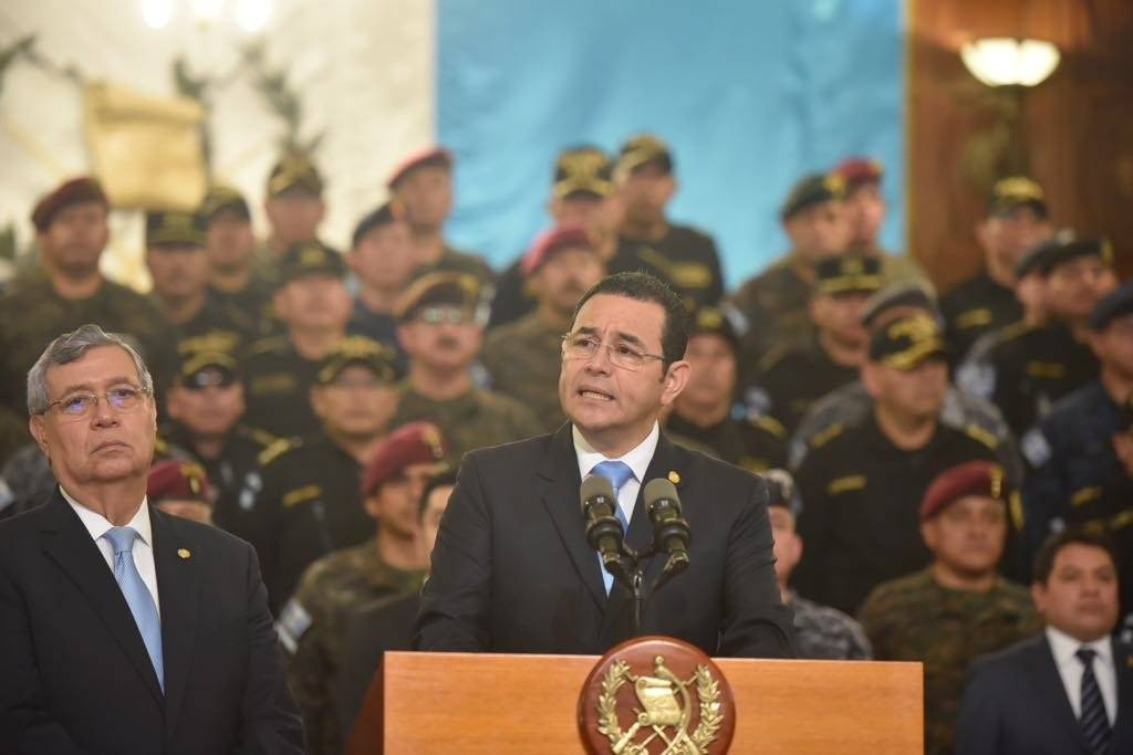 El presidente Morales decidió no renovarle al mandato a la CICIG. Su período finaliza el 3 de septiembre de 2019. Foto: Omar Solís