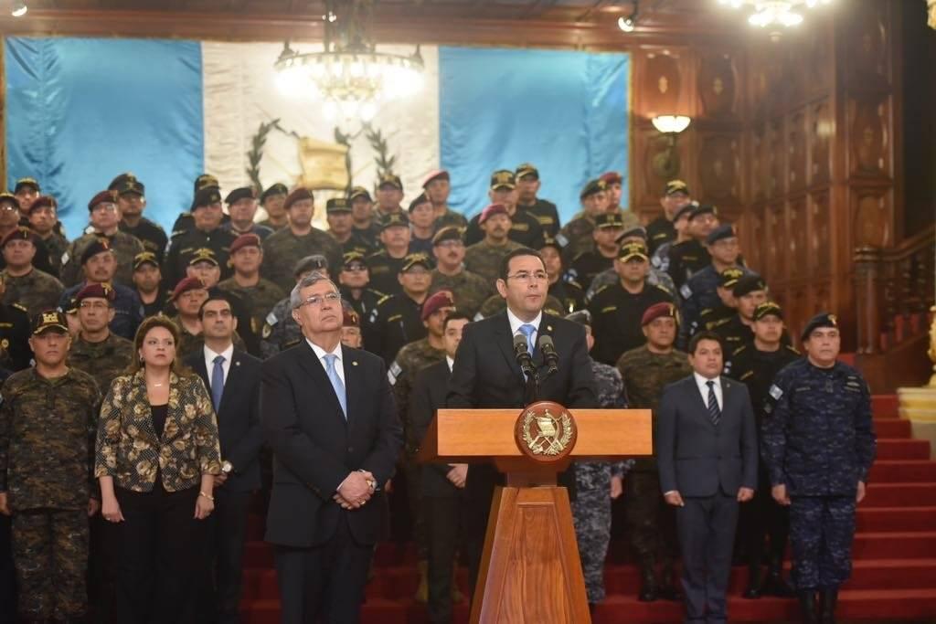 El presidente Morales anunció que el mandato de la CICIG no fue renovado. Foto: Omar Solís