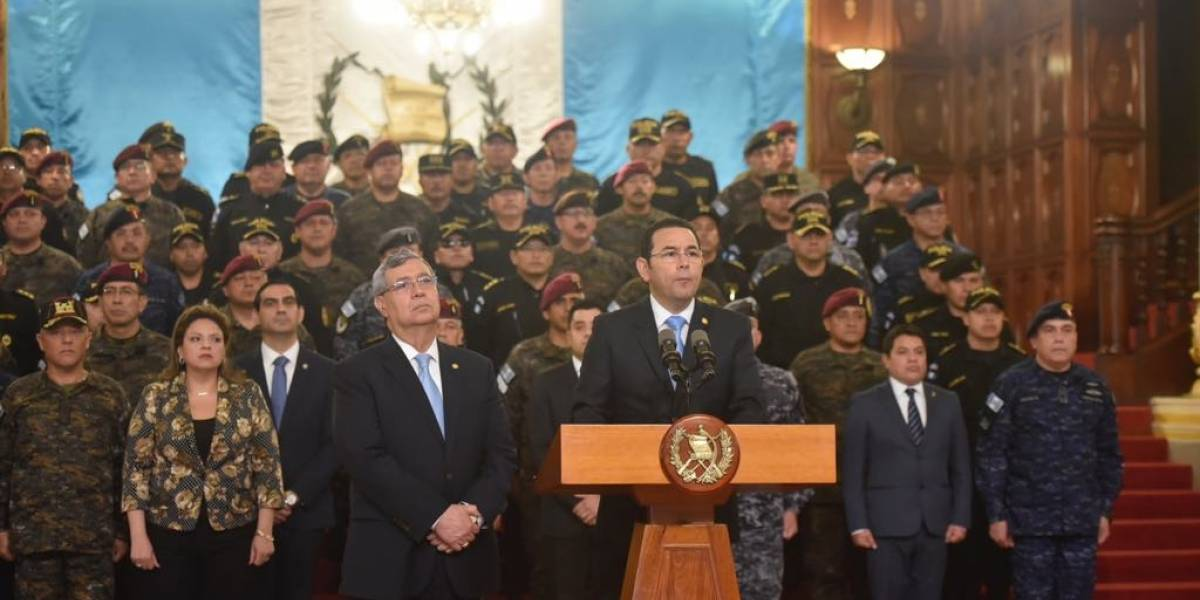 Presidente de Guatemala rechaza renovar mandato de misión anticorrupción de la ONU