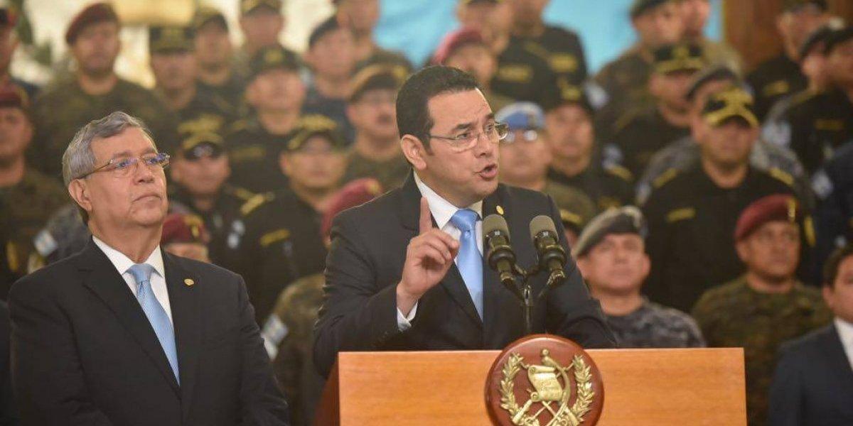 Presidente anuncia la no renovación de mandato de la CICIG