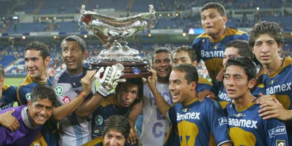 Pumas recordó la histórica victoria ante el Real Madrid