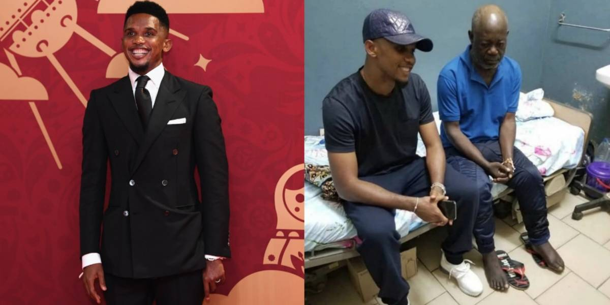 Samuel Eto'o ayudará a ex futbolista que actualmente vive en la calle