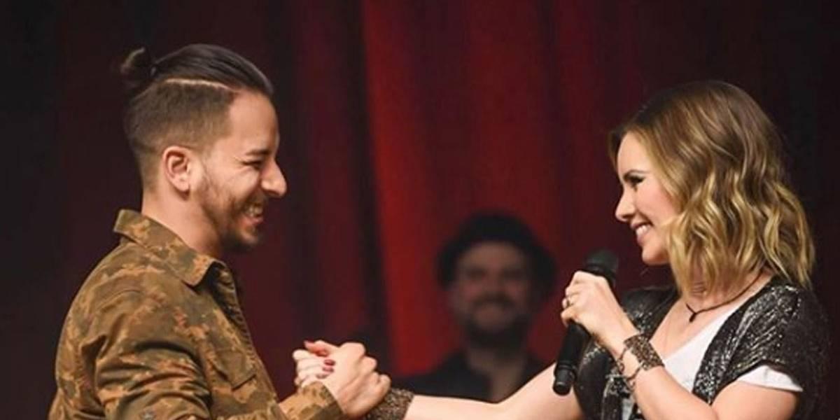 Sandy e Júnior se reencontram no palco e fãs piram: 'Não resisti', diz ele, que fez surpresa para a irmã