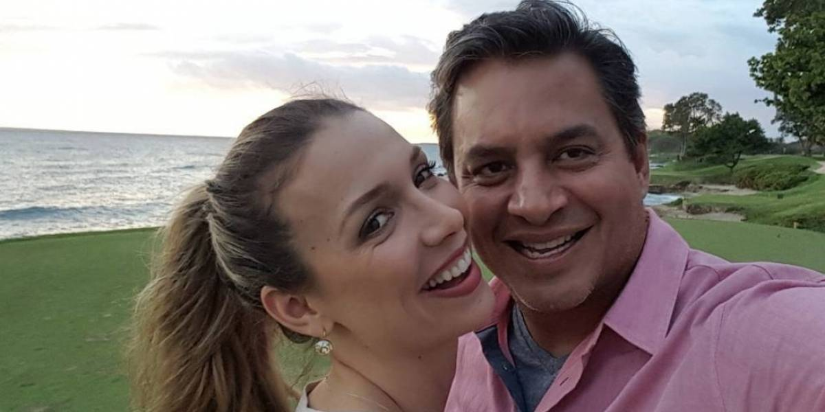 Daniel Sarcos anuncia embarazo de su pareja