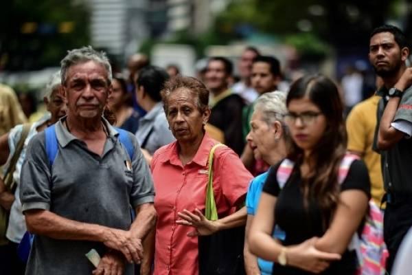 Personas de la tercera edad en Venezuela