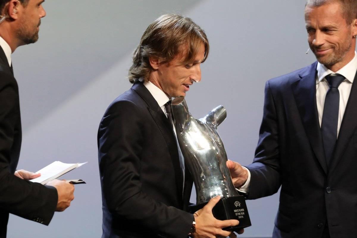 Luka Modric gana el premio al mejor jugador de Europa