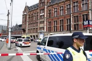 Ataque con un puñal en Amsterdam