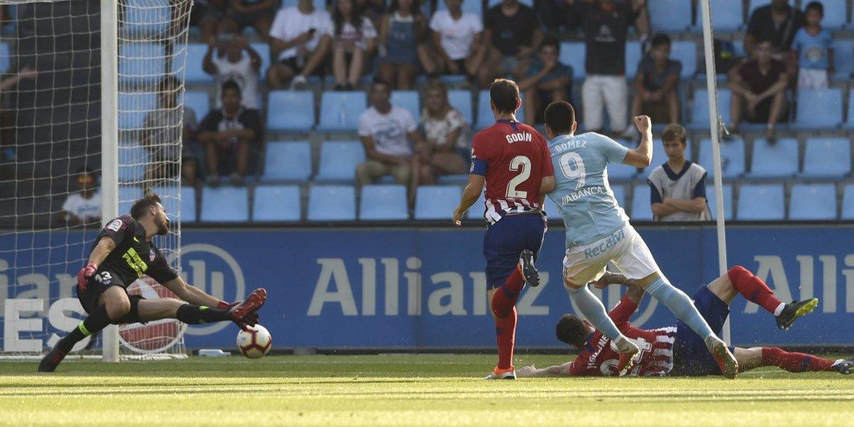 El Atlético de Madrid sufre su primera goleada en la Liga