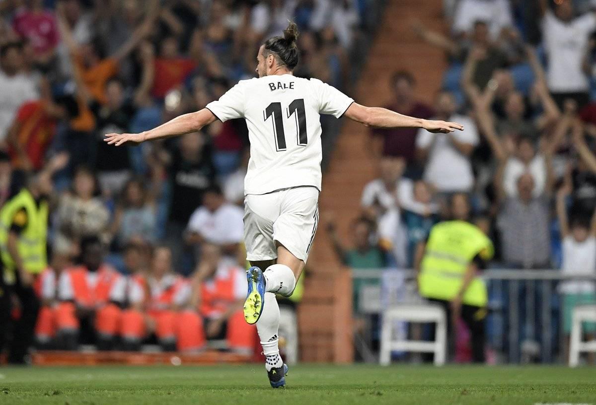 Bale abrió la ruta de la goleada.