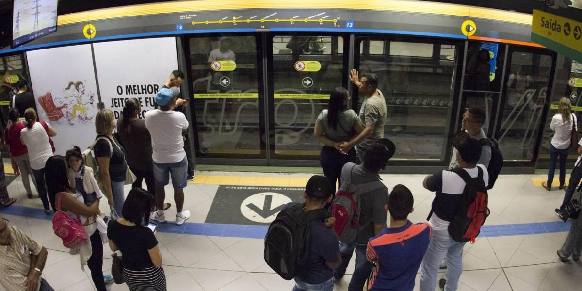 Linha 4-Amarela do Metrô ficará fechada até as 16h neste domingo