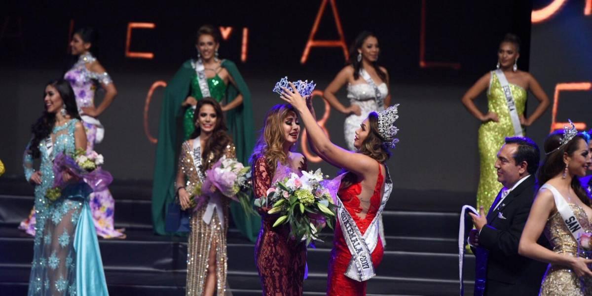 Mariana García es la nueva Miss Universo Guatemala 2018