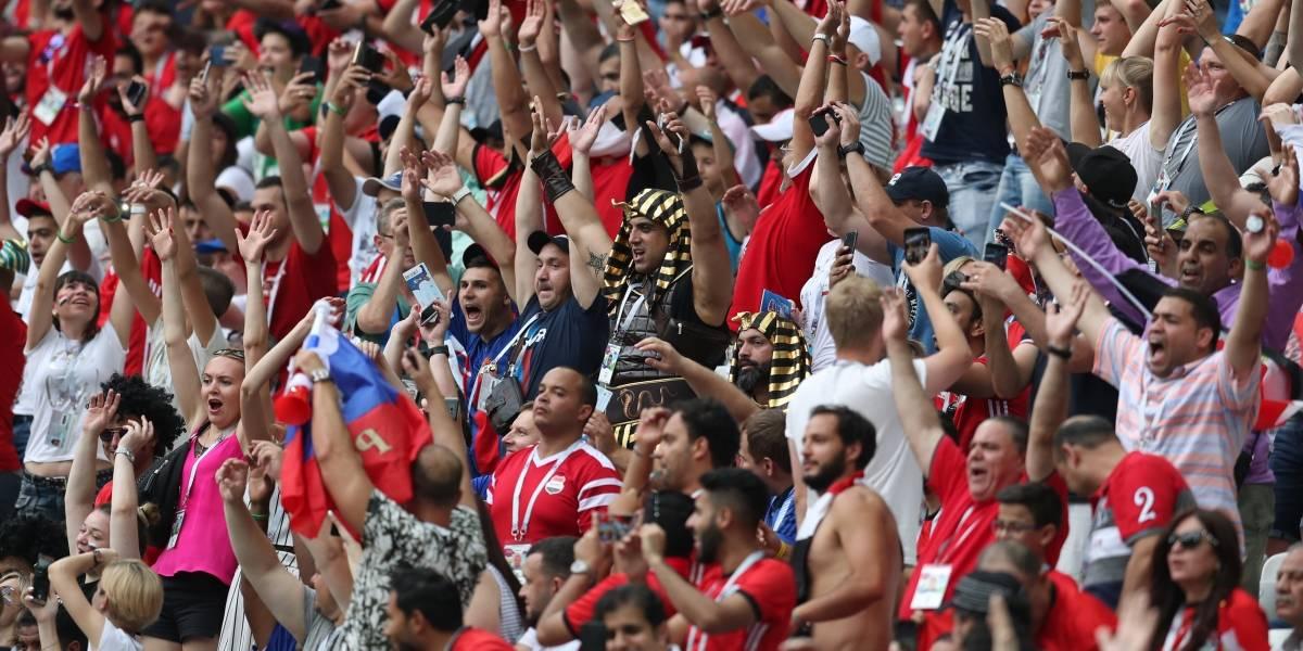 Después de seis años, estadios de Egipto permiten entrada de aficionados