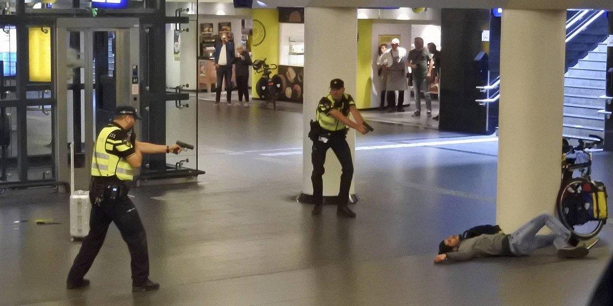 Víctimas de ataque con cuchillo en Holanda son estadounidenses