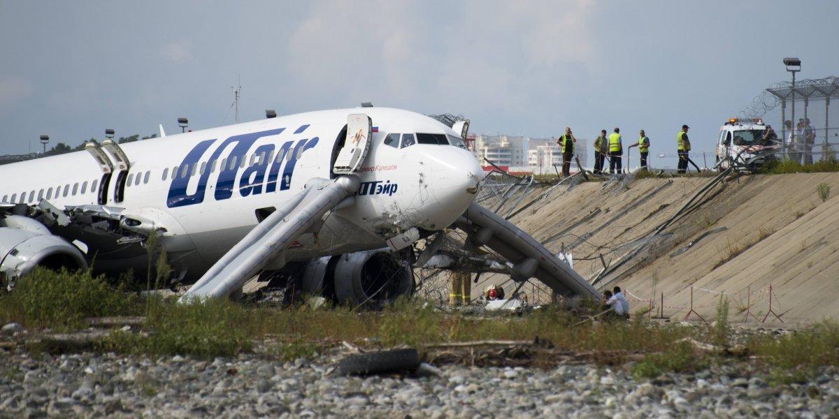 Accidente de avión en Rusia deja saldo de un muerto y 18 heridos