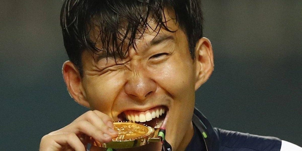 La figura coreana del Tottenham se salvó del servicio militar