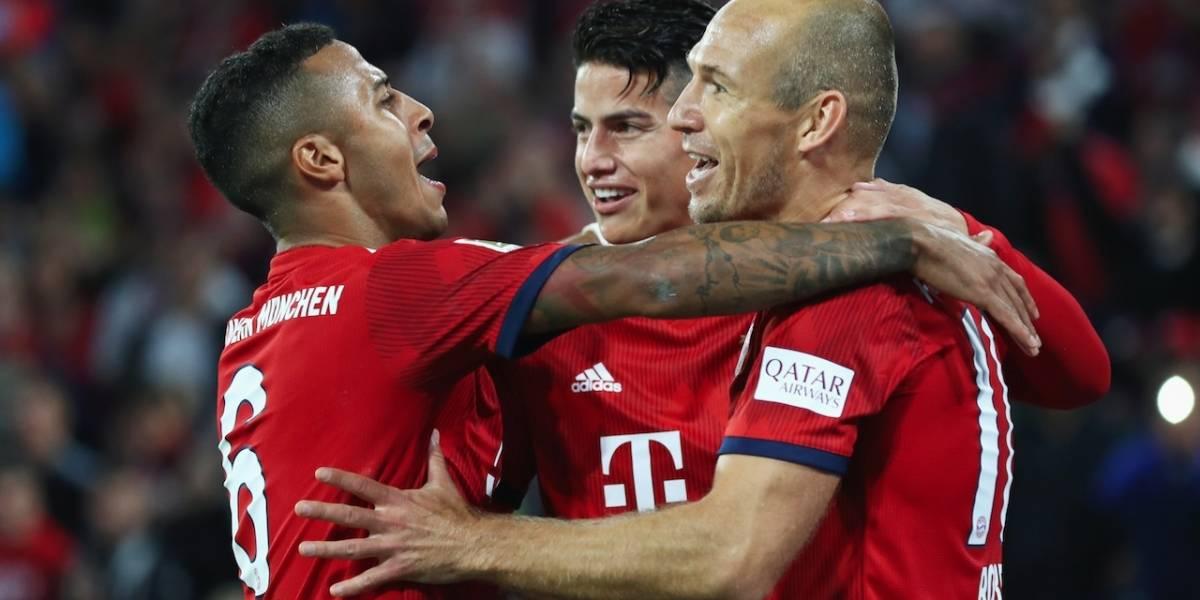 ¿Regresa James a la titular? Bayern Múnich mide fuerzas contra Stuttgart