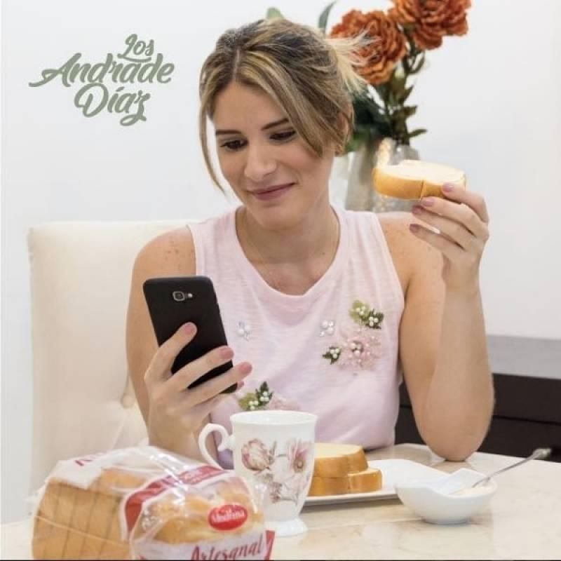 Gabriela Díaz después Instagram