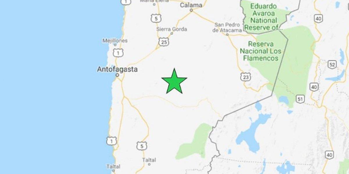 Registran sismo de mediana intensidad en la Región de Antofagasta y se suma a otros de Coquimbo