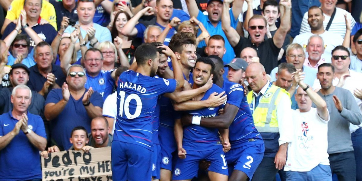 Chelsea sumó otra victoria y se mantiene en la cima de la Premier League