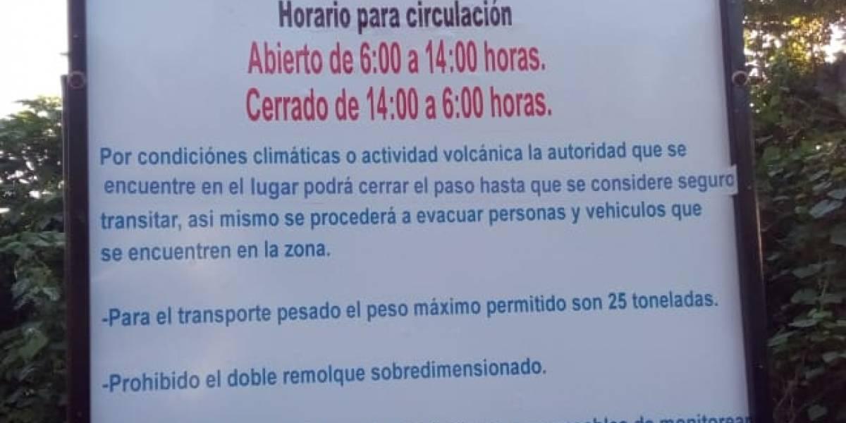 Provial cambia temporalmente el horario de circulación vehicular por la RN-14