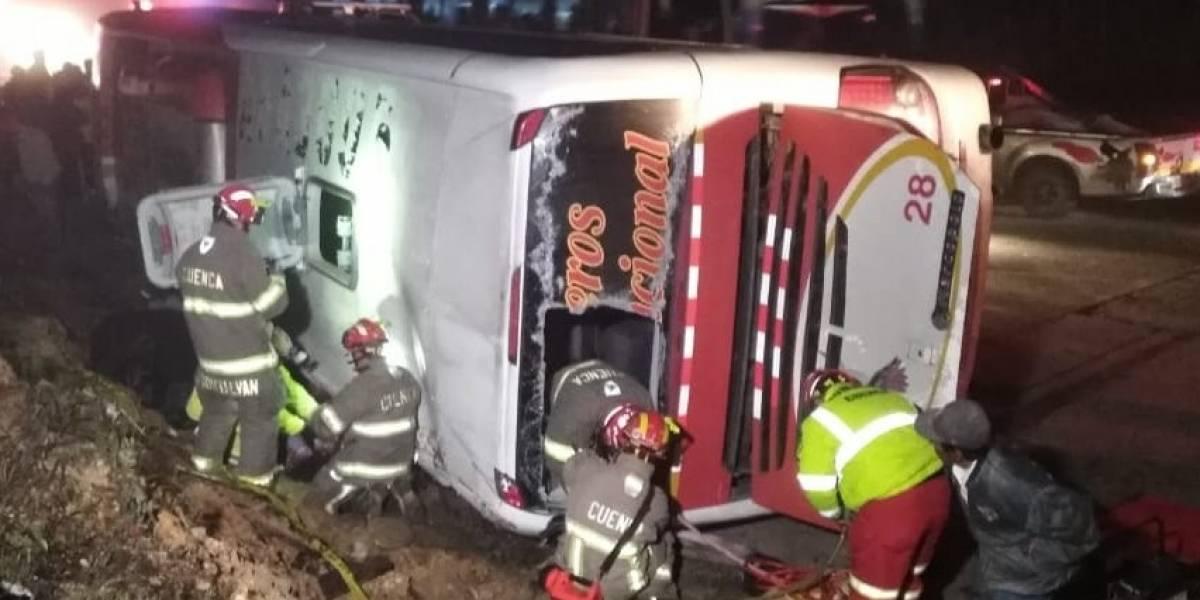 Nuevo accidente de autobús en Ecuador deja 10 muertos