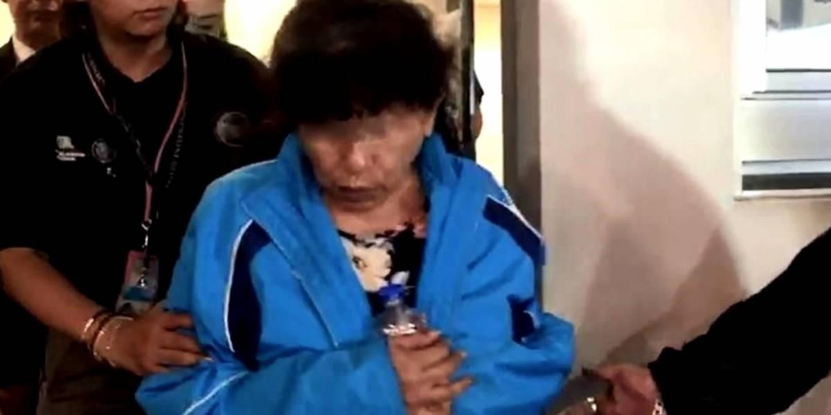 VIDEO: Effy Sánchez es detenida por desvío de recursos