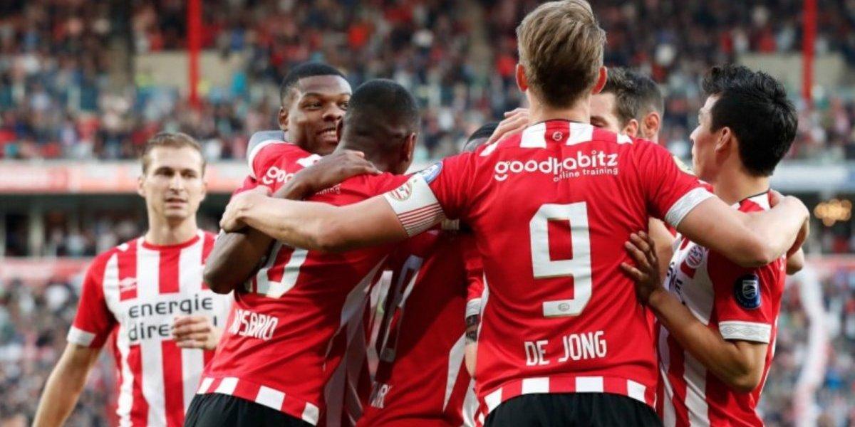 Con 'Chucky' Lozano de titular, el PSV golea al Willem