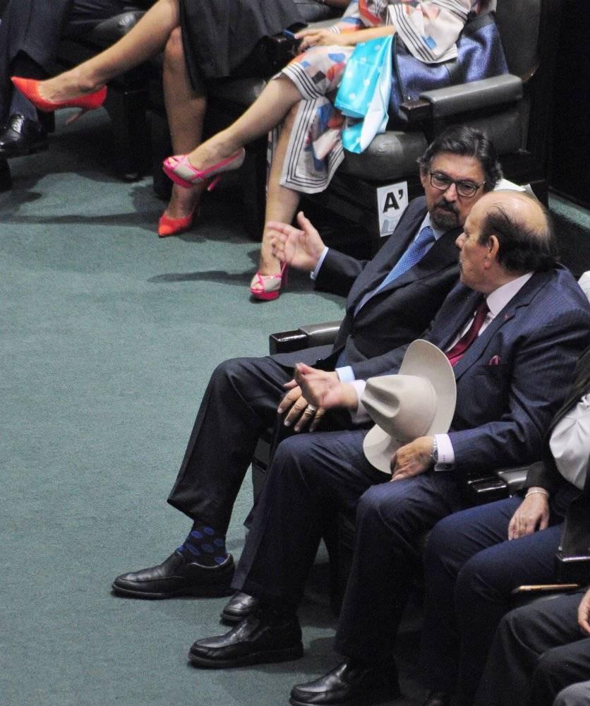 El senador Napoleón Gómez Foto: Cuartoscuro