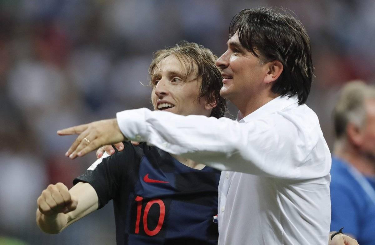 Modric es admirado por su técnico.