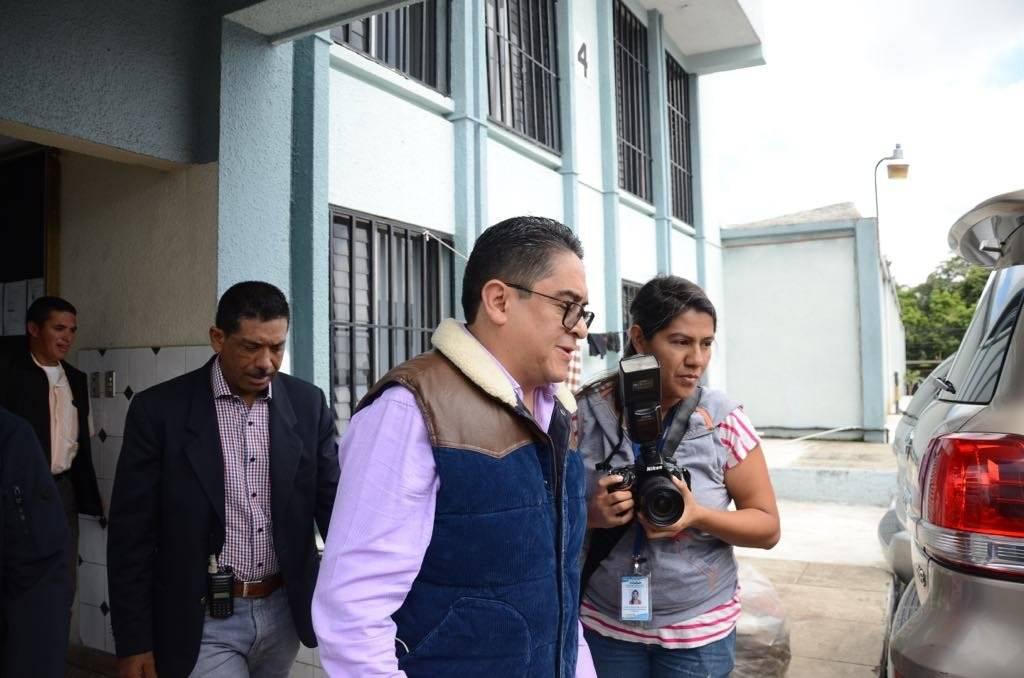 PDH pide amparo contra el presidente Jimmy Morales. Foto: Omar Solís