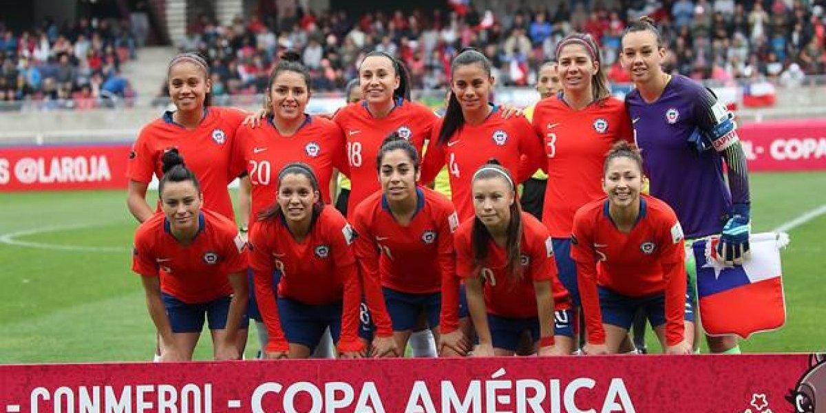 Selección chilena femenina cayó de manera inapelable ante Estados Unidos