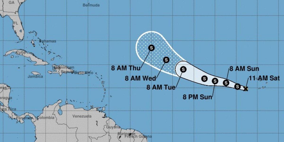 Tormenta tropical Florence no presenta peligro y sigue en aguas del Atlántico