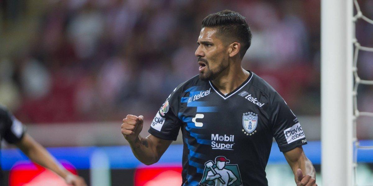 Franco Jara le da la victoria al Pachuca sobre Chivas