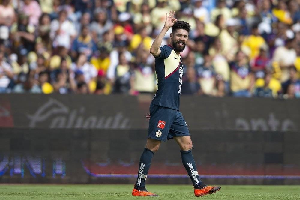 Oribe Peralta llegó a 4 goles en el torneo. / Mexsport