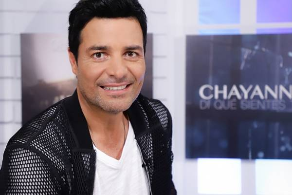 Private Evening With Chayanne DORAL, FL - MAY 03: Chayanne attends the Di Que Sientes Tu new video preview, and Desde El ALMA Tour dates at Cobb CineBistro at CityPlace Doral on May 3, 2018 in Doral, Florida. (Photo by John Parra/Getty Images)