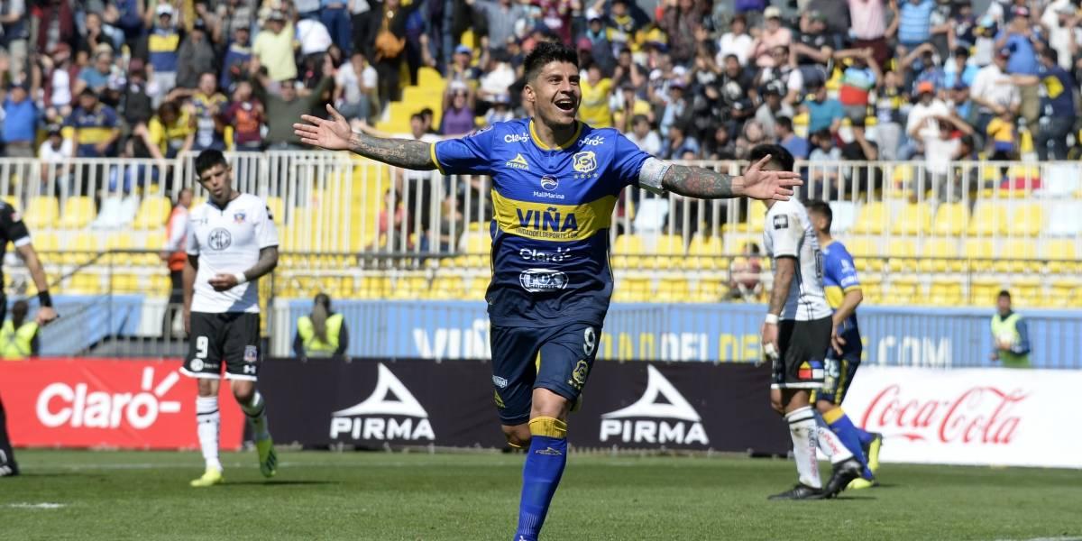 Colo Colo se rindió al show de Patricio Rubio en Everton y se aleja cada vez más del título