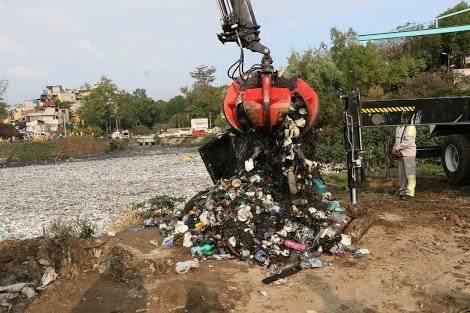 La mayoría de la basura proviene de los hogares. Foto: Sedema