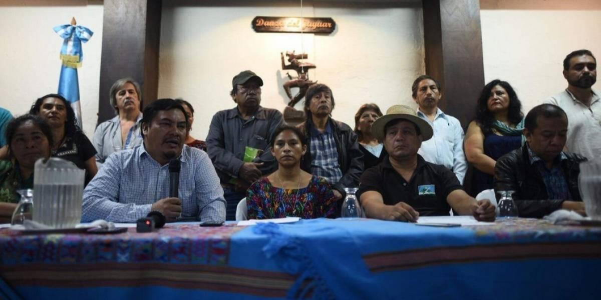 Organizaciones sociales alertan de acciones que violan la Constitución