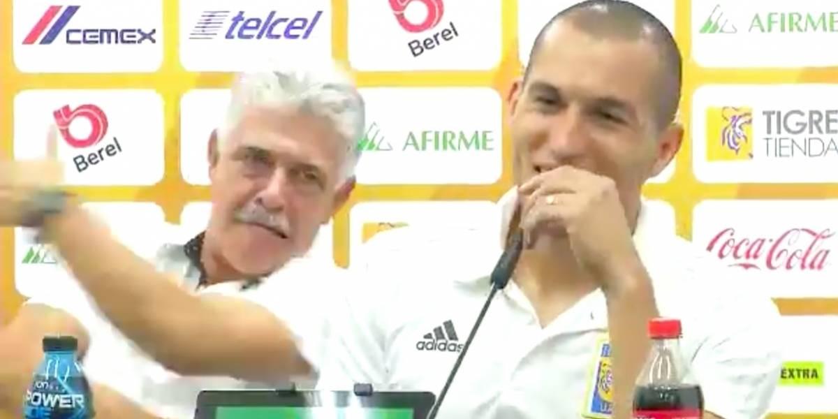 VIDEO: Así reaccionó el 'Tuca' Ferretti tras el gol de Torres Nilo