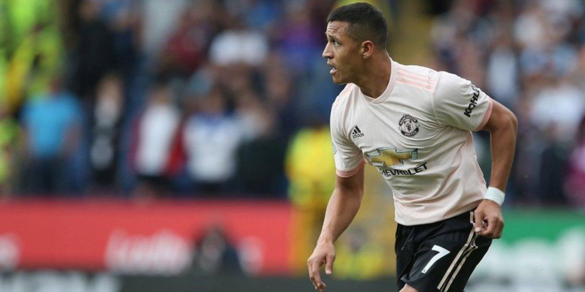 Alexis brindó una asistencia y salió enojado en la victoria a domicilio del Manchester United sobre el Burnley