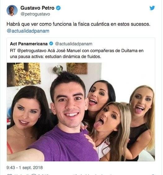 twiter Gustavo Petro