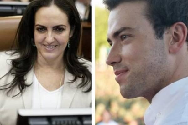 Hijo del expresidente Santos trolea a senadora Uribista