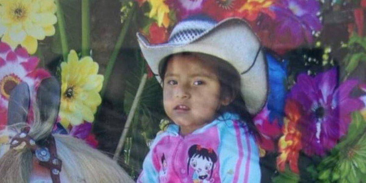 Fallece niña que fue atacada con machete en Quiché